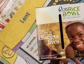 Image of CRS Rice Bowl and Lent resources