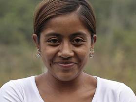 young Honduran woman