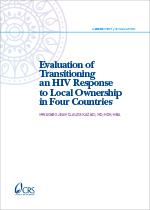 Evaluation of Transitioning an HIV Response to Local Ownership in Four Countries