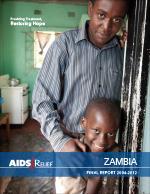 AIDSRelief Zambia Final Report