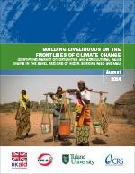 Building Livelihoods on the Front Lines of Climate Change
