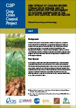 New Spread of Cassava Brown Streak Virus Disease and Its Implications for the Movement of Cassava Germplasm