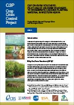 Pilot Use of On-farm Vouchers to Disseminate Cassava Planting Material in Western Kenya