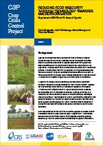 Reducing Food Insecurity Through Technology Transfer—Macropropagation (Uganda)