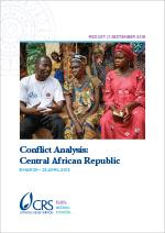 conflict analysis: central african republic