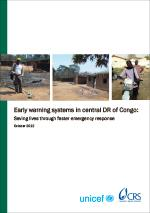 Early warning systems in central DR of Congo: Saving lives through faster emergency response