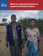 Effects of a Values-Based Curriculum on Couples From Northwest Cameroon