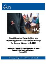Guidelines for Establishing and Operating Successful Support Groups for People Living with HIV