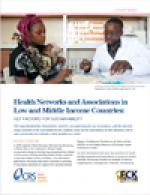 Health Networks and Associations in Low and Middle Income Countries