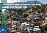 This handbook documents CRS' experience in planning and implementing its urban transitional shelter program in Haiti.