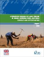 Literature Review of Land Tenure in Niger, Burkina Faso, and Mali