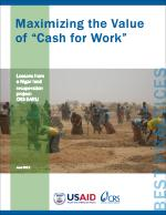 Maximizing the Value of Cash for Work