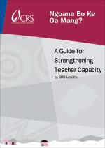 A Guide for Strengthening Teacher Capacity