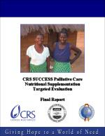 Palliative Care Nutritional Supplementation Targeted Evaluation