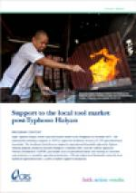 Support to the local tool market post-Typhoon Haiyan