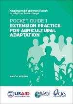 Pocket Guide 1: Extension Practice for Agricultural Adaptation