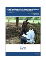 A Rapid Seed Assessment in the Southern Department of Haiti
