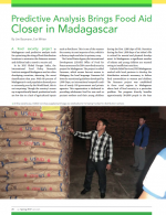 Food Aid closer to Madagascar.