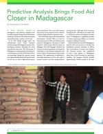 Food Aid closer to Madagascar.