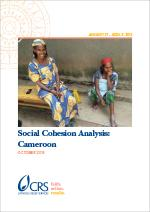 social cohesion analysis: cameroon
