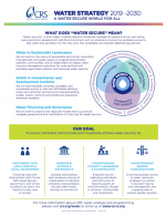 Water Strategy 1 page