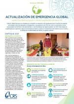 Actualizacion de emergencia global de CRS invierno 2020
