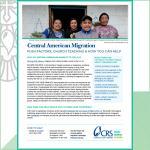 Central American Migration Handout
