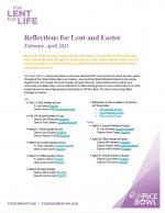 Reflections and homilies for Lent and Easter 2021 by CRS Global Fellows