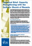 Capacity Strengthening With the Catholic Church of Rwanda (Technical Brief)