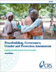 Peacebuilding, Governance, Gender and Protection Assessments