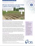 AGRICULTURAL BEHAVIOR CHANGE: BRIEF 2