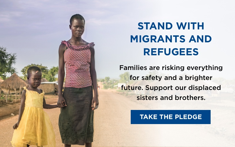 Stand With Migrants And Refugees. Take The Pledge!